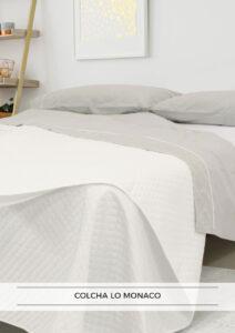 Promoción colcha de verano de regalo con la compra de colchón LOMONACO en Ocasofás Alhama
